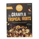 Granola GO NATURAL Tropical Fruits Cja 300 Grm