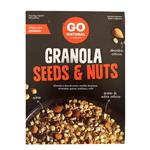 Granola GO NATURAL Seeds & Nuts Cja 300 Grm