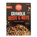 Granola GO NATURAL Seeds & Nuts Cja 300 Grm