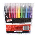 Desk Mate Marcadores Color X12 Pack . . .