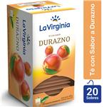 Té Durazno LA VIRGINIA     Caja 20 Saquitos