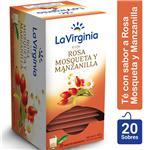 Té Rosa Mosqueta Y Manzanilla LA VIRGINIA     Caja 20 Saquitos