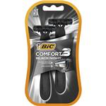Maquina De Afeitar BIC Confort Black Night Blister 2 Unidades