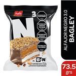 Alfajor Triple Bagley  Negro Paquete 73 Gr 1 Unidad