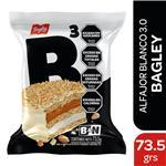 Alfajor Triple Bagley  Chocolate Blanco Paquete 73 Gr 1 Unidad