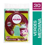 Bolsa Verde 50 X 70 Asurin Paq 30 Uni