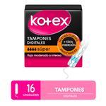 Tampones Kotex Super X16