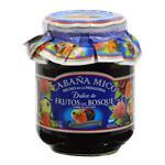 Dulce Frutos Del Bosque CABAÑA MICÓ Frasco 454 Gr