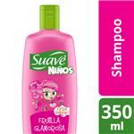 Shampoo SUAVE Niños  Frutilla Glomorosa Botella 350 ML