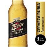 Cerveza  MILLER   Botella 1 L
