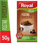 Postre Royal Chocolate Light  Sobre 50 Gr