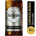 Cerveza WARSTEINER Botella 1 L