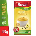 Postre Royal Vainilla Light  Sobre 43 Gr