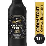Cerveza Cream Stout IMPERIAL   Botella 1 L