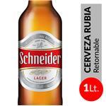 Cerveza Lager SCHNEIDER Botella 1 L