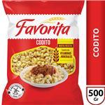 Coditos FAVORITA Paquete 500 Gr