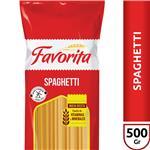 Espagueti FAVORITA Paquete 500 Gr