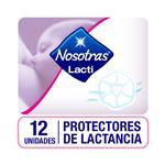 Protectores De Lactancia Nosotras  Cja 12 Un