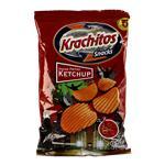 Papas Fritas Krach-Itos Corte Americano Ketchup Paq 65 Grm