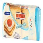 Tostadas De Mesa Bimbo Paq 150 Grm