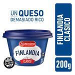 Queso Untable Clasico Vit A/ Finlandia Pot 200 Grm