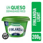 Queso Untable Light FINLANDIA Vitamina A/D Pot 200 Grm