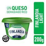 Queso Untable Light Vit A/D Finlandia Pot 200 Grm