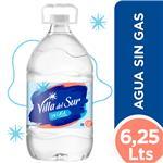 Agua Mineral  VILLA DEL SUR     Bidon 6.25 L