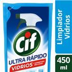 Limpiador CIF Multiuso Vidrio Doy 450 Ml