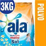 Jabón En Polvo ALA  Matic Sol  Paquete 3 Kg