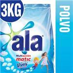 Jabón En Polvo ALA Matic Vivere  Paquete 3 Kg