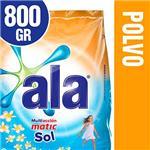 Jabón En Polvo ALA  Matic Sol  Paquete 800 Gr
