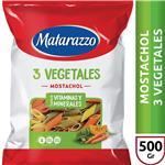 Mostachol Matarazzo  3 Vegetales  Paquete 500 Gr