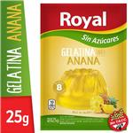 Gelatina Royal Anana Light  Sobre 25 Gr