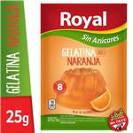 Gelatina ROYAL Naranja Light Sobre 25 Gr