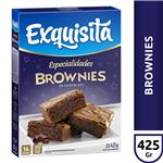 Polvo Para Brownies Exquisita Chocolate   Caja 425 Gr