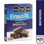 Polvo Para Brownies EXQUISITA Chocolate Caja 425 Gr