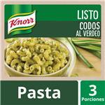 Pastas Listas KNORR Codos Salsa De Verdeo   Pouch 211 Gr