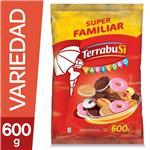 Galletitas Dulces TERRABUSI Variedad Nuevo Mix Paq 600 Grm