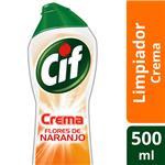 Limpiador CIF Flores Y Naranja C/Microparticulas Bot 750 Grm