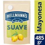 Mayonesa HELLMANNS Suave Con Jugo De Limón Pouch 485 Gr