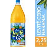 Agua Saborizada  VILLA DEL SUR LEVITE Cero Naranja Botella 2.25 L