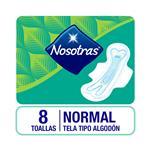 Toalla Femenina Nosotras Plus Paq 8 Uni