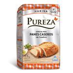Harina Con Levadura Pureza Para Pan Paquete 1 Kg