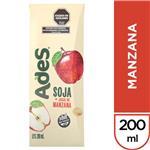 Jugo De Soja  ADES Manzana    Tetrabrik 200 Cc
