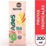 Jugo De Soja  ADES Frutas Tropicales    Tetrabrik 200 Cc
