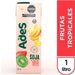 Jugo De Soja ADES Frutas Tropicales Tetrabrik 1 L