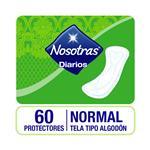 Protectores Diarios Nosotras Normal 60 Unidades