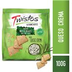 Crackers TWISTOS Multicereal Queso Crema Bsa 100 Grm