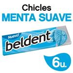 Chicles Menta Suave BELDENT Paq 10 Grm